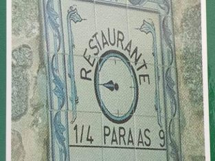 Restaurante Cervejaria 1/4 para as 9