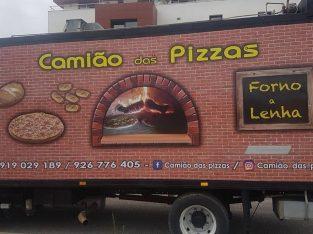 Camião das pizzas