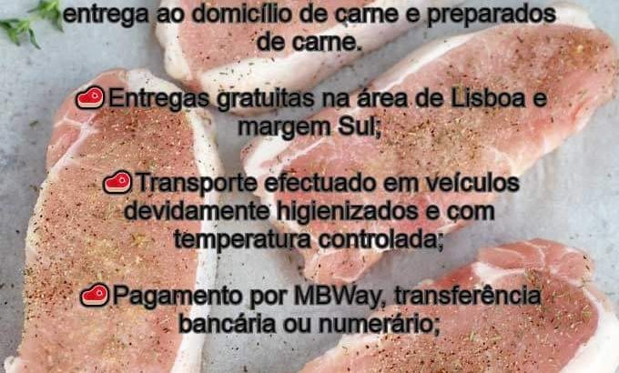 SAPMOGO, entrega de carne e derivados ao domicílio